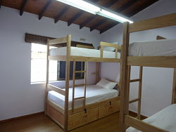 Purple Monkey Hostel Rooms